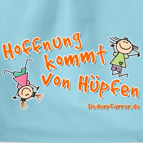 Hoffnung kommt von Hüpfen - Kinder - Turnbeutel