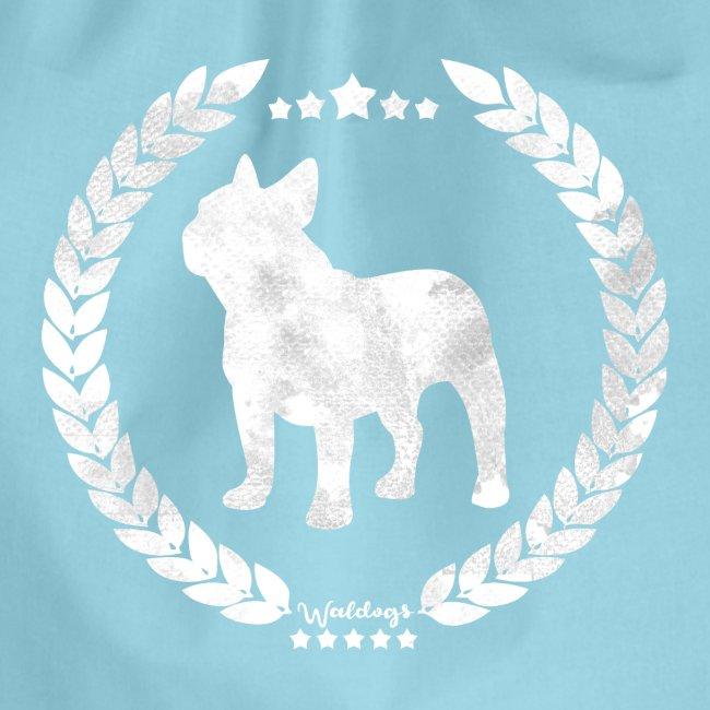 French Bulldog Army Silver