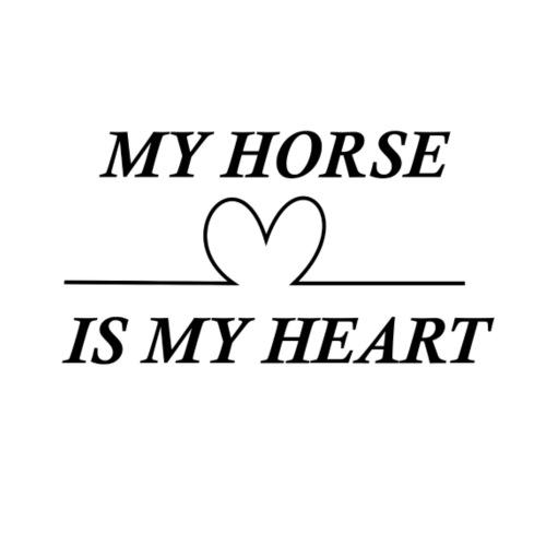 My horse is my heart - Turnbeutel