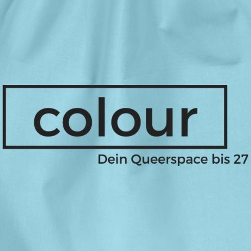 colour.Siegen Schwarz - Turnbeutel