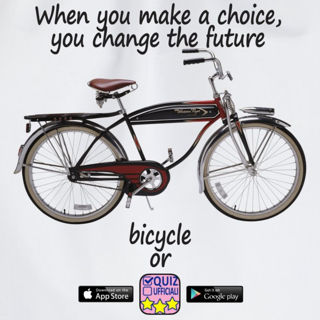 Bicycle or...