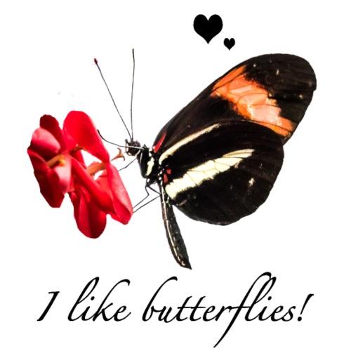 Geschenkidee Schmetterling - Turnbeutel