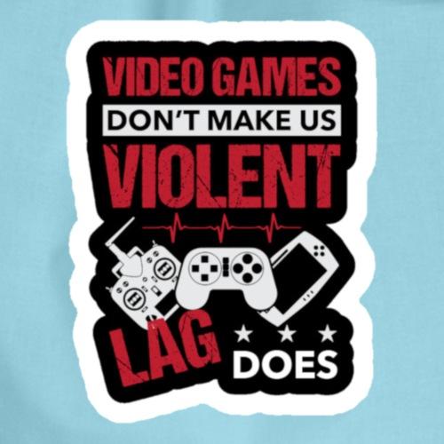 Video Game Lag - Turnbeutel
