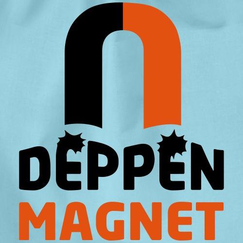Deppenmagnet - Turnbeutel