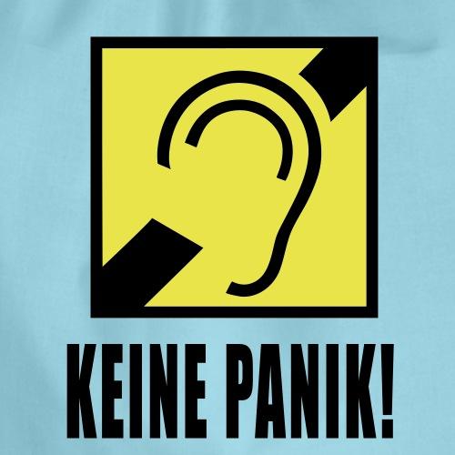 Bin Gehörlos - Keine Panik! - Turnbeutel