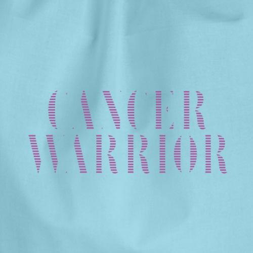 Cancer Warrior - kanker strijder - Gymtas