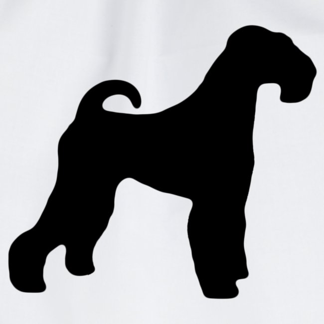 BLACK Airedale Terrier
