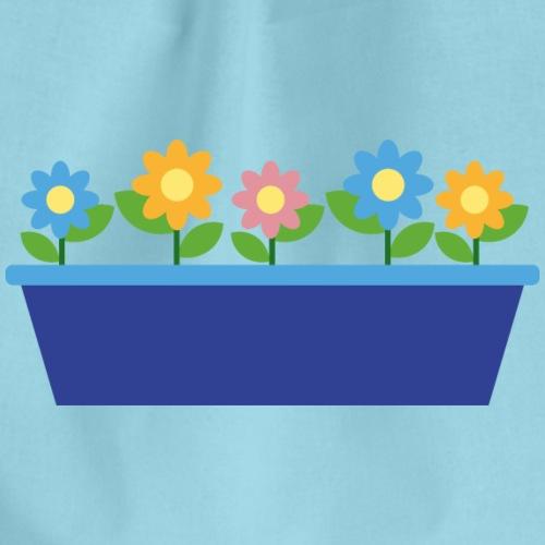 Sommerblumen - Turnbeutel