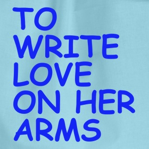 to write love on her arms blau - Turnbeutel