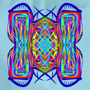 turtle tortoise trippy abstract psychedelic - Turnbeutel