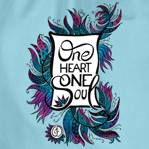 One Heart One Soul - blue