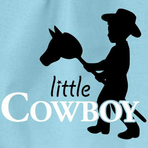 little cowboy_waagrecht - Turnbeutel