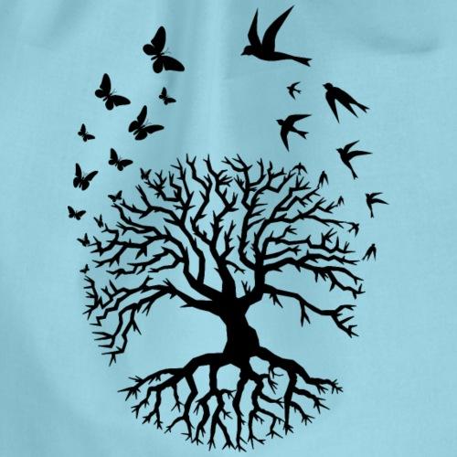 arbre de vie zen relaxation Tree of life noir - Sac de sport léger