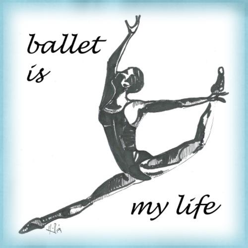 ballet modern - Turnbeutel