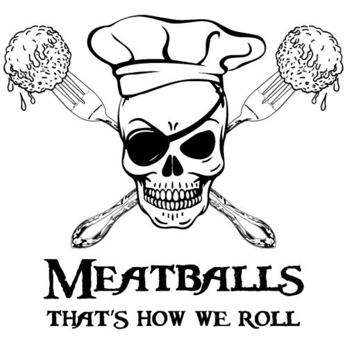 Meatballs - tinte chiare - Sacca sportiva