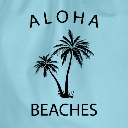Aloha Beaches - Drawstring Bag