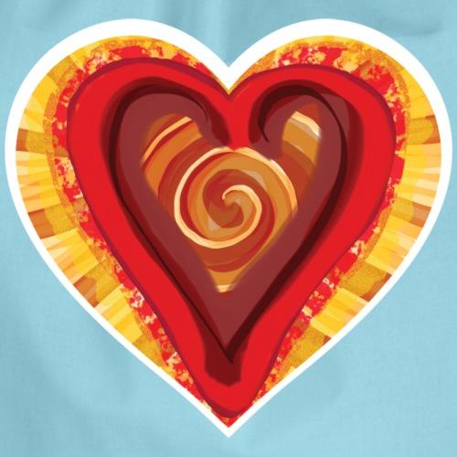 Chocolat love - Drawstring Bag
