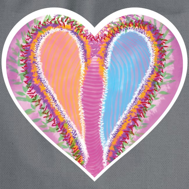 Hearts dont split, they get wings