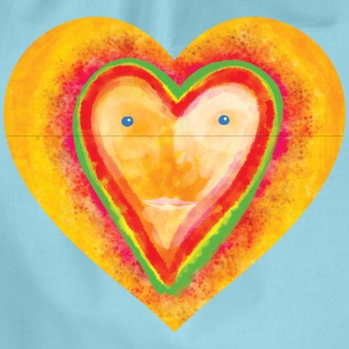 Heartface - Drawstring Bag