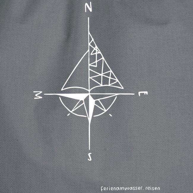 DIE RICHTUNG STIMMT - Maritim, Kompass, Norden