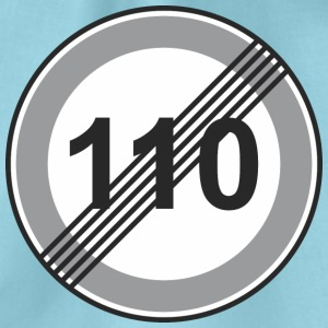 Signe de la route 110 de restriction - Sac de sport léger