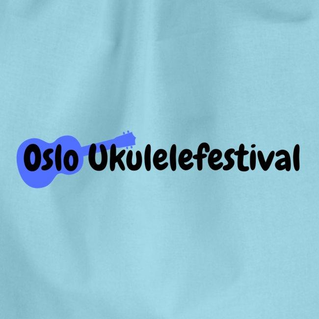 Oslo Ukulelefestival blå logo