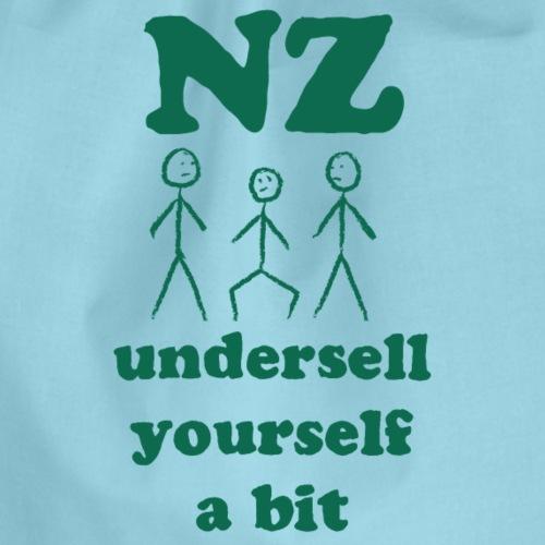 New Zealand – undersell yourself a bit - Turnbeutel
