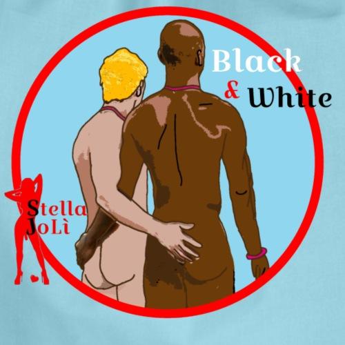 Black&White by Stella JoLì - Sacca sportiva