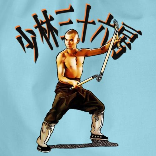 Shaolin Warrior Monk - 3 afdeling personale - Sportstaske