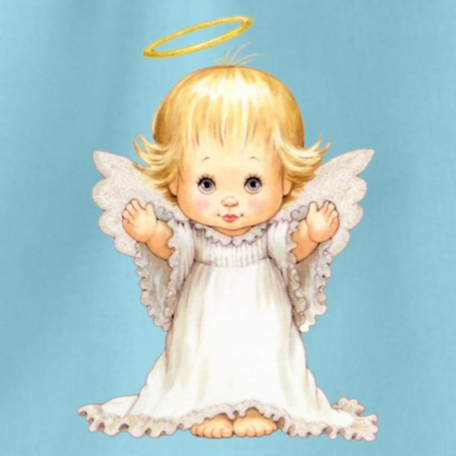 angel t-shirt sweatshirt unisex bag - Drawstring Bag