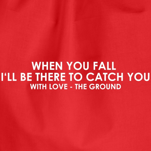 I'll be there - the ground - Turnbeutel