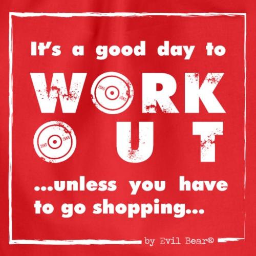 ...bo każdy musi iść w końcu na zakupy... :) - Worek gimnastyczny
