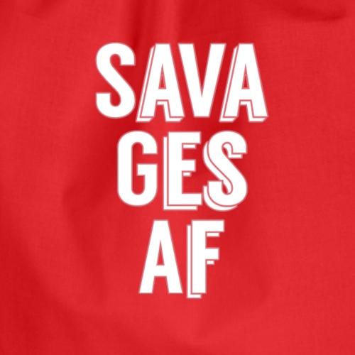 Savages AF Squad - Mochila saco