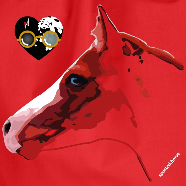 Spotted.Horse Appaloosa Colt Red