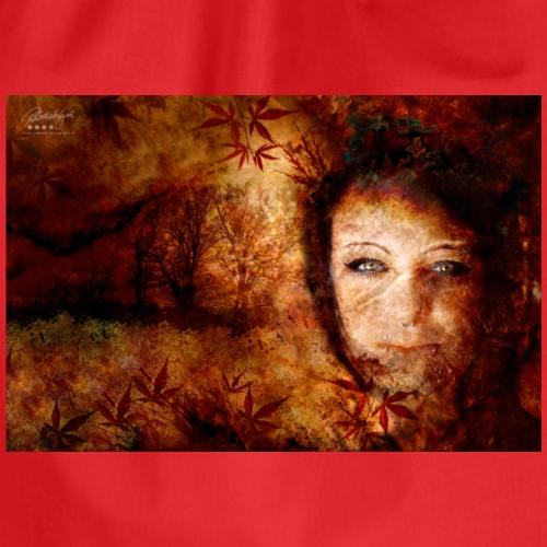 Farbphantasien -Herbststürme- - Turnbeutel