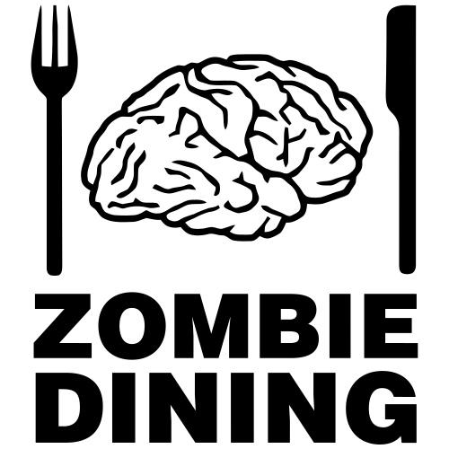 Zombie dining - Gymnastikpåse