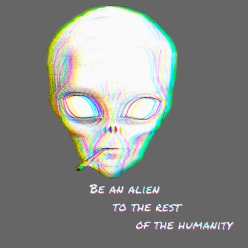Alien to the world - Mochila saco