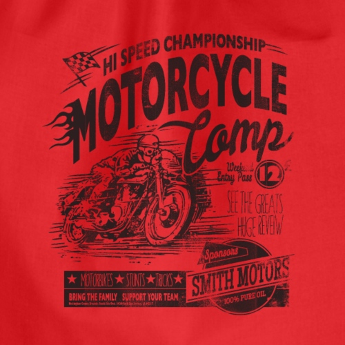 Motorcycle Camp - Gymtas