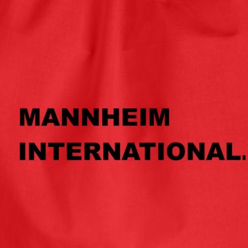 MANNHEIM INTERNATIONAL - Turnbeutel