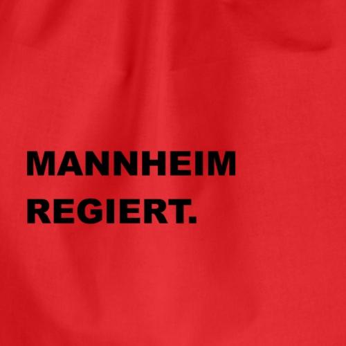 MANNHEIM REGIERT. - Turnbeutel