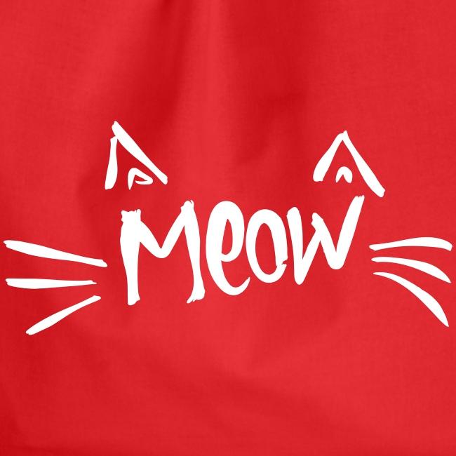Vorschau: meow2 - Turnbeutel