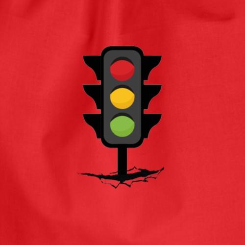 Traffic Light - Drawstring Bag