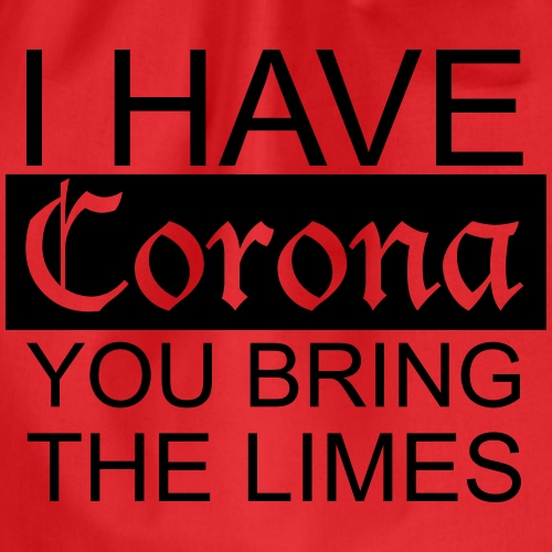 Corona and Limes - Turnbeutel