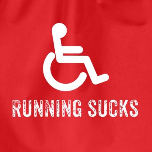 Running sucks - Turnbeutel