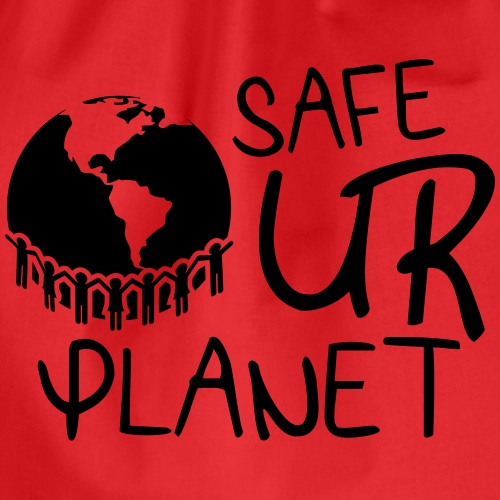 safe your planet - Turnbeutel