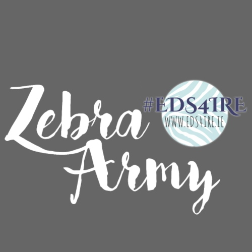 Zebra Army (white) - Drawstring Bag