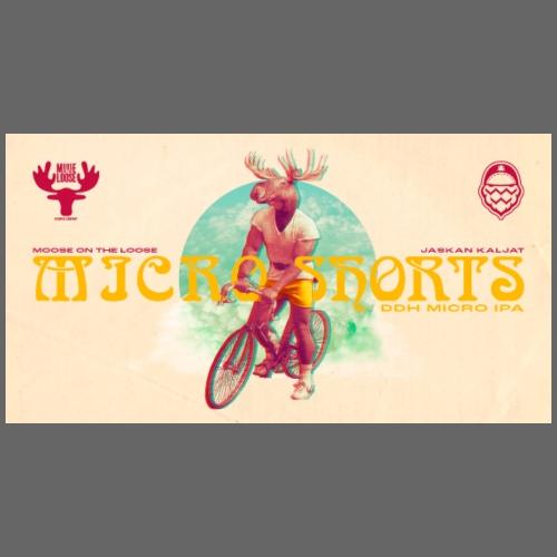 Moose On The Loose X JaskanKaljat Micro Shorts DDH - Jumppakassi