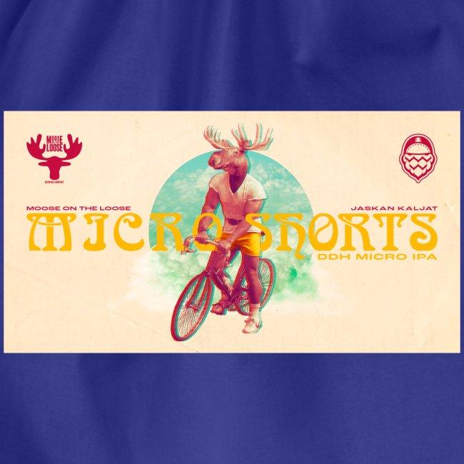 Moose On The Loose X JaskanKaljat Micro Shorts DDH