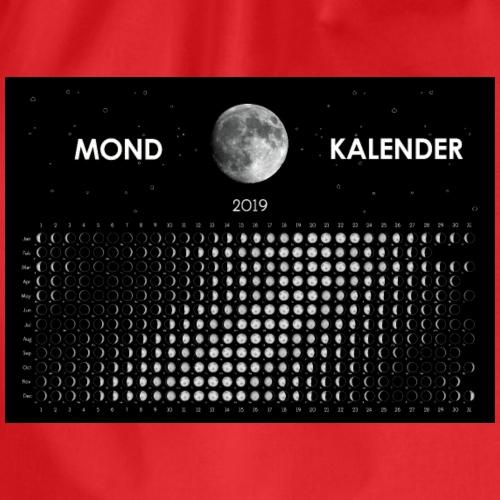 Mond Kalender 2019 - Turnbeutel