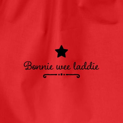 Bonnie wee laddie - Drawstring Bag